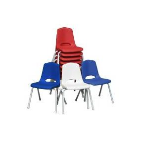 Chair: Children's (Blue, Red, White, Yellow) $1.50+