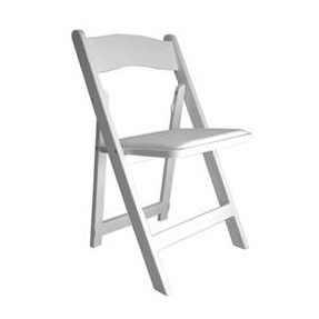 Chair: White Garden $2.75+