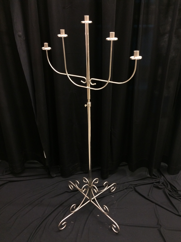 5 light Excalibur, nickel