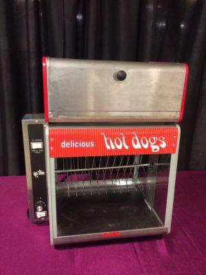 Hot Dog Broiler With Bun Warmer