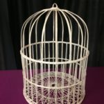 Wicker Bird Cage Card Holder