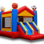 Sports Combo Inflatable, 19x13x14, 225lbs