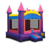 Princess Castle Basic Inflatable, 15x15x15, 230lbs