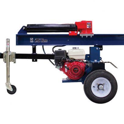 26 Ton Iron & Oak Log Splitter