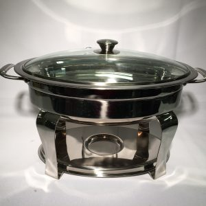 Chafing Dish 5qt. Round Rolltop