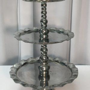 Aluminum Cupcake Stand