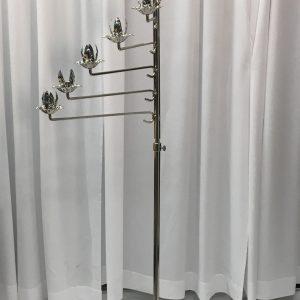 11 Lite Spiral Brass